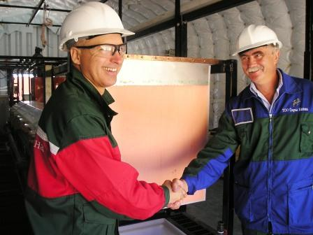 First copper produced in Kazakhstan by Copper Solvent Extraction and Electrowinning